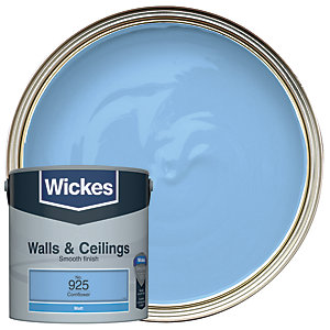 Wickes Colour @ Home Vinyl Matt Emulsion Paint- Cornflower 2.5L