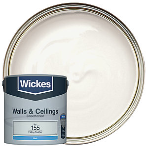Wickes Colour @ Home Vinyl Matt Emulsion Paint- Falling Feather 2.5L