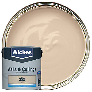 Wickes Colour @ Home Vinyl Matt Emulsion Paint- Frappuccino 2.5L