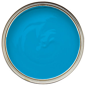 Wickes Colour @ Home Vinyl Matt Emulsion Paint Discovery Cove 2.5L