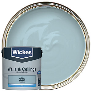 Wickes Colour @ Home Vinyl Matt Emulsion Paint- Rock Pool 2.5L