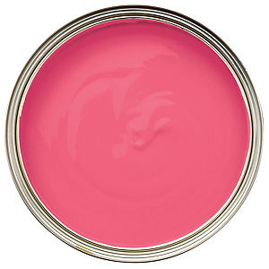 Wickes Colour @ Home Vinyl Matt Emulsion Paint Pink Prowess 2.5L