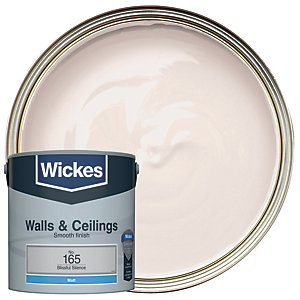 Wickes Colour @ Home Vinyl Matt Emulsion Paint- Blissful Silence 2.5L