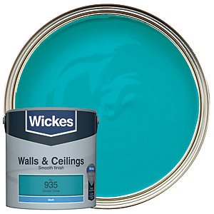 Wickes Colour @ Home Vinyl Matt Emulsion Paint- Ocean Drive 2.5L