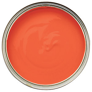 Wickes Colour @ Home Vinyl Matt Emulsion Paint- Hot Lava 2.5L