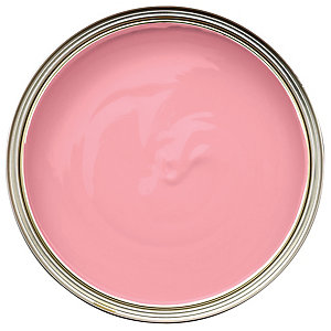 Wickes Colour @ Home Vinyl Matt Emulsion Paint Pink Gin 2.5L
