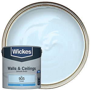 Wickes Colour @ Home Vinyl Matt Emulsion Paint- Powder 2.5L