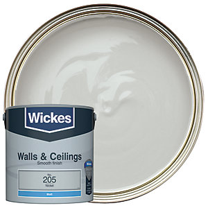 Wickes Colour @ Home Vinyl Matt Emulsion Paint- Silver 2.5L