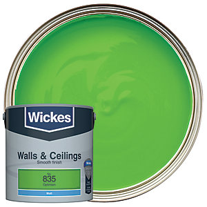 Wickes Colour @ Home Vinyl Matt Emulsion Paint- Optimism 2.5L
