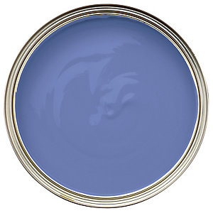 Wickes Colour @ Home Vinyl Silk Emulsion Paint Bluebell 2.5L