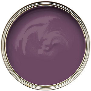 Wickes Colour @ Home Vinyl Silk Emulsion Paint Aubergine 2.5L