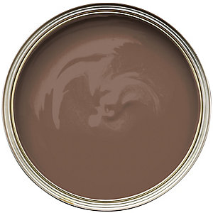 Wickes Colour @ Home Vinyl Silk Emulsion Paint- Chocolate 2.5L
