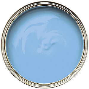 Wickes Colour @ Home Vinyl Silk Emulsion Paint- Cornflower 2.5L