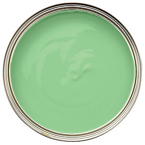 Wickes Colour @ Home Vinyl Silk Emulsion Paint Mint Blast 2.5L