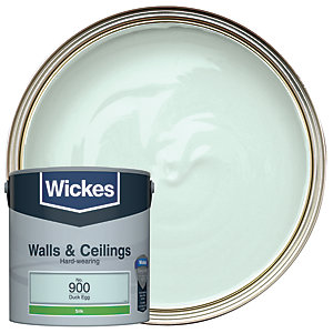 Wickes Colour @ Home Vinyl Silk Emulsion Paint- Duckegg 2.5L