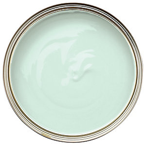 Wickes Colour @ Home Vinyl Silk Emulsion Paint Jade Whisper 2.5L