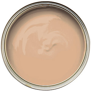 Wickes Colour @ Home Vinyl Silk Emulsion Paint- Fudge 2.5L