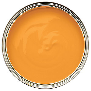 Wickes Colour @ Home Vinyl Silk Emulsion Paint Mango 2.5L