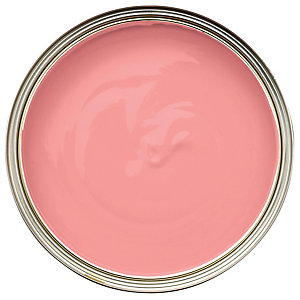 Wickes Colour @ Home Vinyl Silk Emulsion Paint Fiery Pink 2.5L