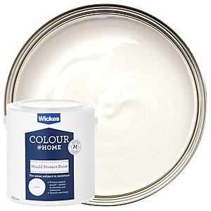 Wickes Mould Protect Emulsion Paint 2.5L
