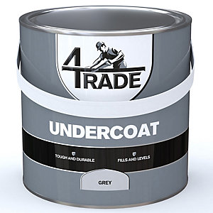 4Trade Undercoat Paint Dark Grey 2.5L