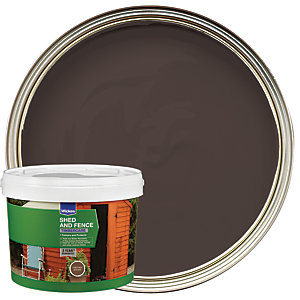 Wickes Shed & Fence Timbercare Chestnut Brown 5L