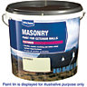 Wickes Textured Masonry Paint Magnolia 15L