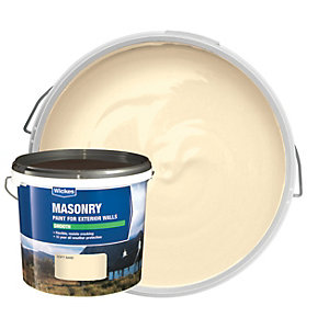 Wickes Smooth Masonry Paint Soft Sand 5L