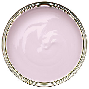 Wickes Non-drip Gloss Paint Soft Pink 750ml