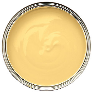 Wickes Quick Dry Gloss Paint Banana Split 750ml