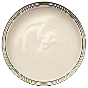 Wickes One Coat Gloss Paint Ivory 750ml