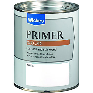 Wickes Wood Primer Paint 750ml