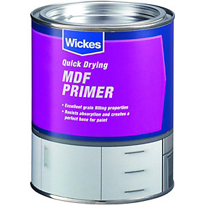 Wickes Quick Dry MDF Primer 750ml