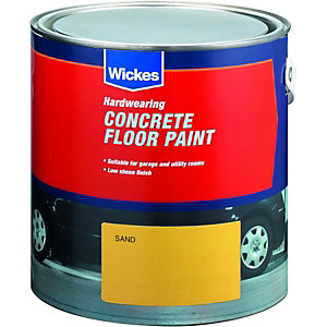 Wickes Concrete Floor Paint Sand 2.5L