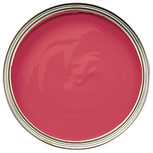 Wickes Non-drip Matt Paint Scarlet LETTER750ml