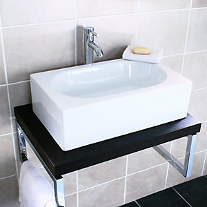 Wickes Sesto Rectangle Basin 600mm