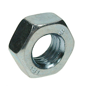 Hexagon Full Nuts Zinc Plated M10