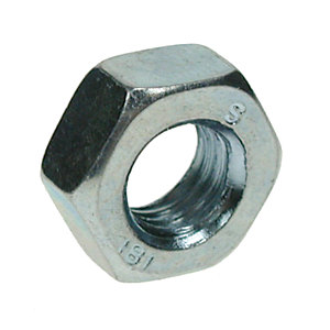 Hexagon Full Nuts Zinc Plated M12