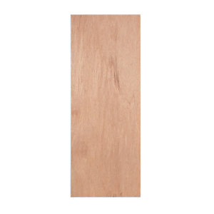 Wickes Lisburn Internal Ply Veneer Door Flushed 1 Panel 1981x610mm