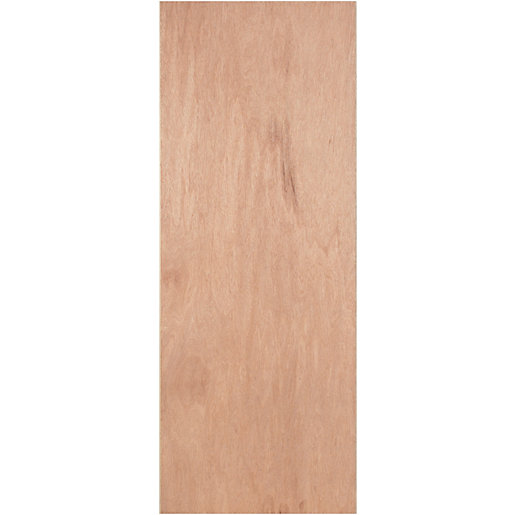 Wickes Ply Veneer Flush Exterior Door 1981x686mm Wickes