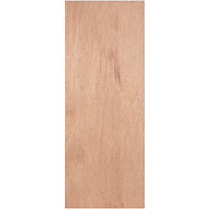 Wickes Lisburn Internal Ply Veneer Door Flushed 1 Panel 1981x838mm