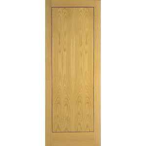 Wickes Gibson Internal Fire Door Oak Veneer Flush 1981x838mm