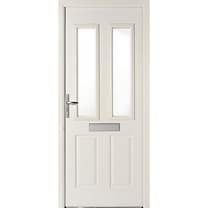 Wickes Sunningdale Doorset Right Hand White 2085 x 920mm