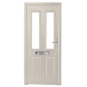 Wickes Sunningdale Doorset Left Hand White 2085 x 920mm