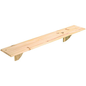 Wickes Pine Shelf Kit 16x190x1185mm
