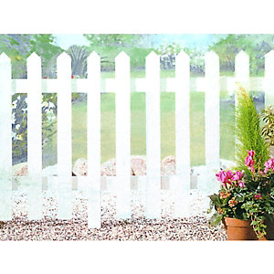 Wickes Palisade Picket Fence Kit 1.83m x 0.92m Untreated Timber
