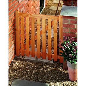 Wickes Softwood Open Slatted Timber Gate 895x915mm