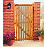 Wickes Softwood Framed Ledged & Braced Flat Top Timber Gate 1795x915mm