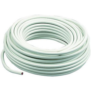 Wickes Coaxial Cable 20m White