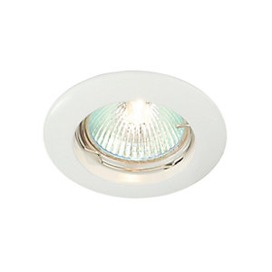 Saxby Classic Fixed Downlight White